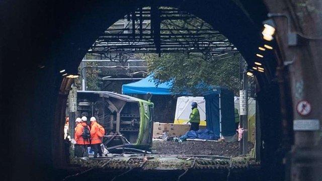 У Лондоні перекинувся трамвай, п'ятеро людей загинули