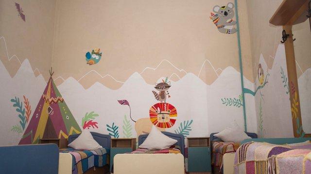 Львівські волонтери розфарбували палати дитячого відділення психіатричної лікарні