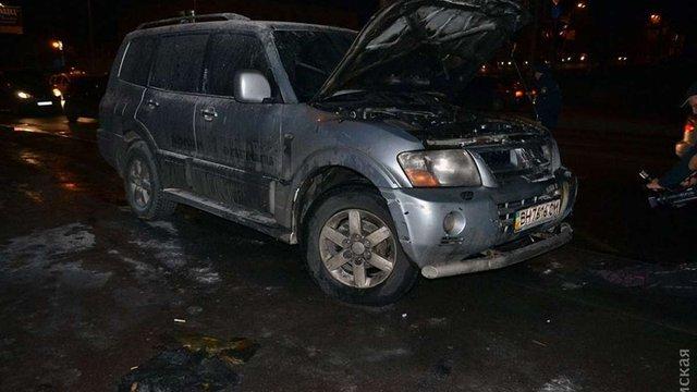 В Одесі спалили автомобіль лідера місцевого Автомайдану