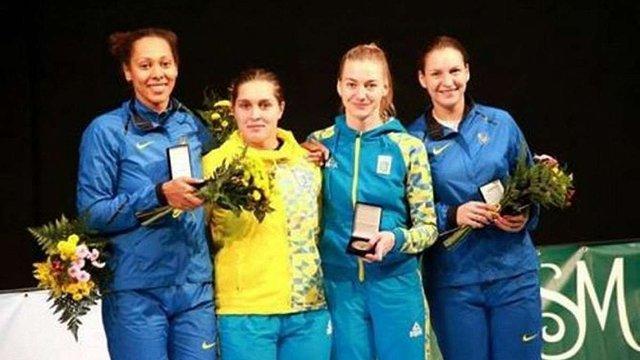 Команда українських шпажисток здобула золото на етапі Кубка світу