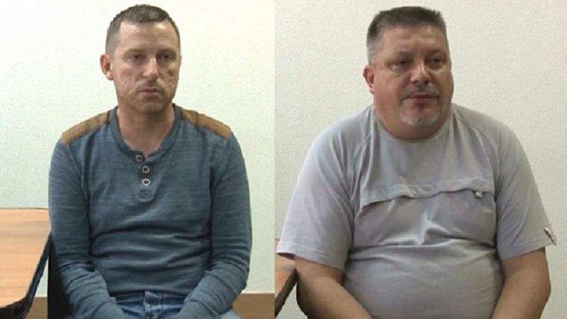 ФСБ оприлюднила відео допиту двох «кримських диверсантів»