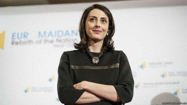Хатія Деканоідзе подала у відставку з посади голови Нацполіції