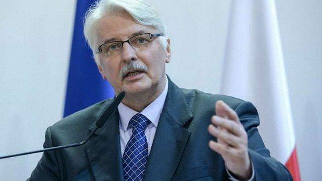 Очільник МЗС Польщі закликав ЄС виконати зобов'язання щодо надання безвізового режиму Україні