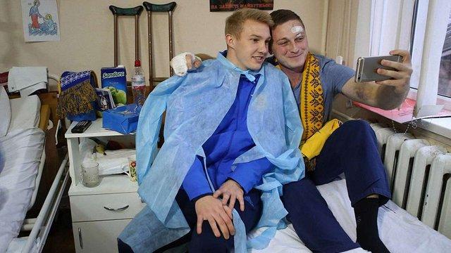 Гравець «Шахтаря» видалив свій пост на підтримку українських військових