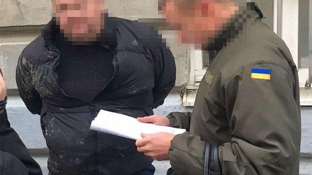 СБУ оприлюднила подробиці затримання чиновника львівської мерії