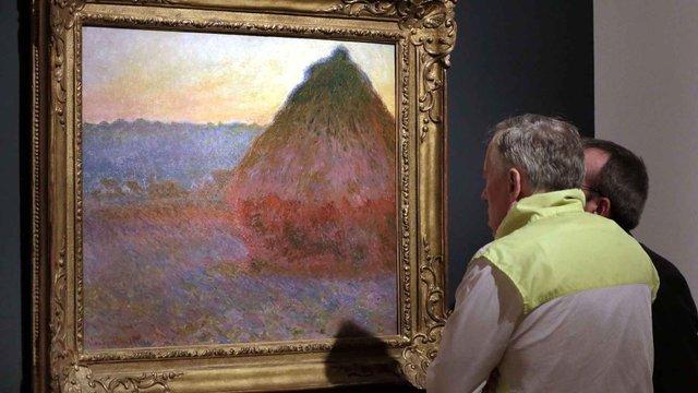 «Копицю сіна» Клода Моне продали за $81,4 млн