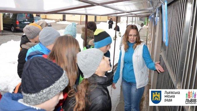 Для школярів Львова провели перший практичний урок у ЛКП «Лев»