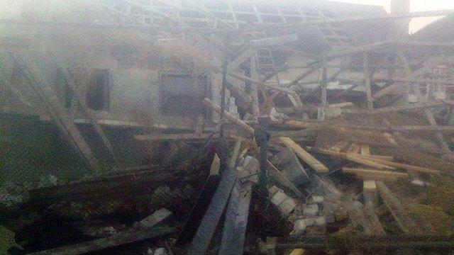 Внаслідок вибуху газу на Львівщині травмувалася 75-річна жінка