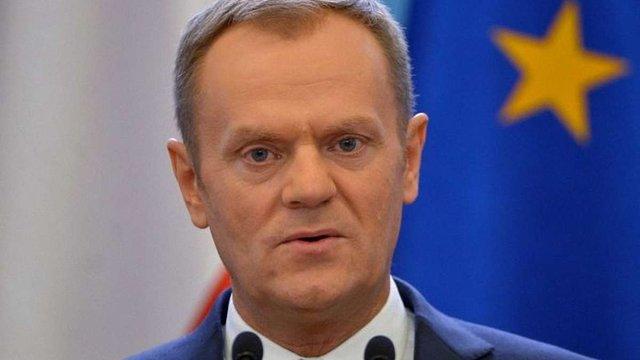 Президент Європейської ради заявив новообраному президенту США про важливість підтримки України
