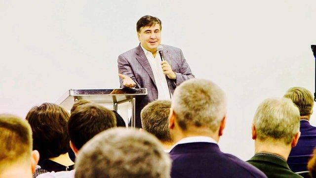 Саакашвілі оголосив про створення «Руху нових сил»
