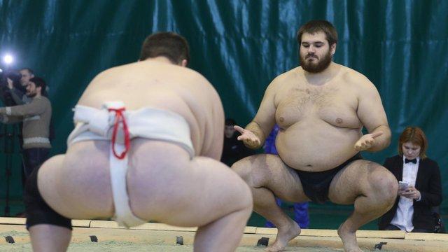У Львові вперше відбувся відкритий турнір з сумо