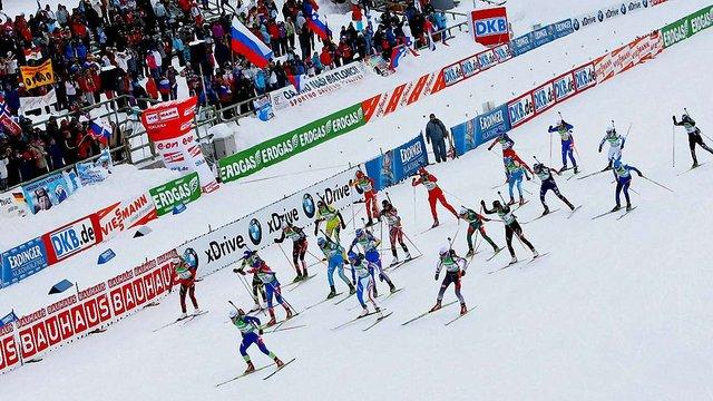 «UA:Перший» домовився про трансляцію етапів Кубка світу з біатлону