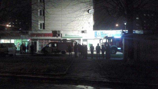 Задимлення у відділенні «Приватбанку» у Львові спричинило коротке замикання