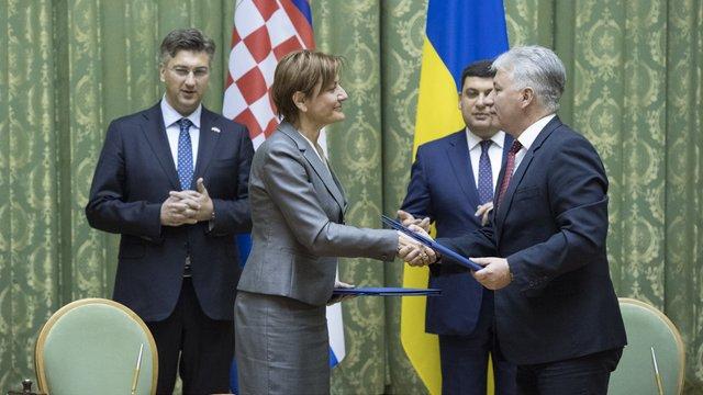 Україна та Хорватія співпрацюватимуть у сфері запобігання катастрофам