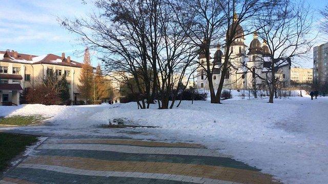 На Сихові відкриють громадський простір біля церкви Святого Духа
