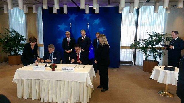 Україна та ЄС підписали угоди про антикорупційне співробітництво та енергетичне партнерство