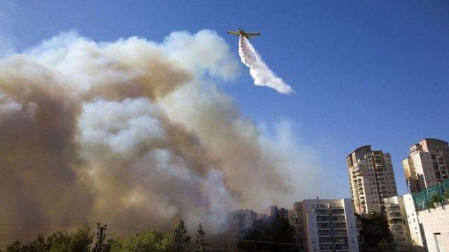Україна допоможе ізраїльтянам боротися з пожежами в Хайфі
