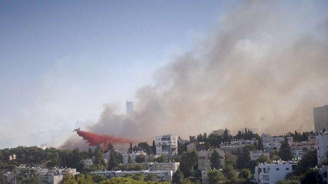 Пожежу в Хайфі вдалося локалізувати