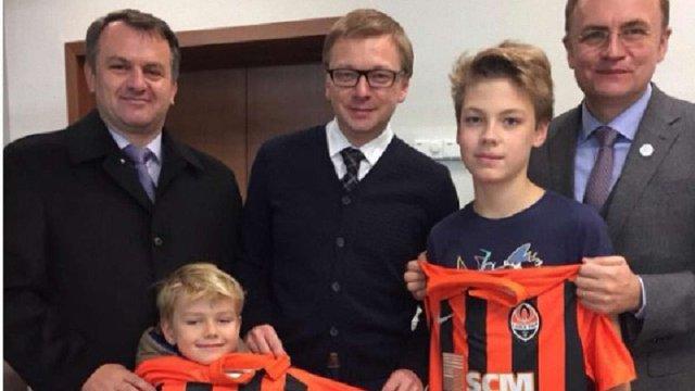 «Шахтар» подякував Андрію Садовому та Олегу Синютці за підтримку команди у Лізі Європи