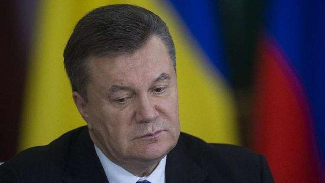 Допит Януковича перенесли на 28 листопада