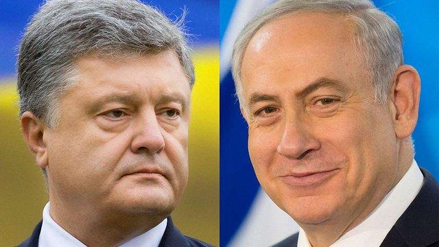 Порошенко запросив прем'єр-міністра Ізраїлю відвідати Україну найближчим часом
