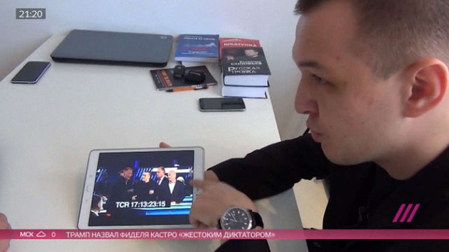 Російський телеканал заплатив 50 тис. рублів польському журналістові, якого побили у студії