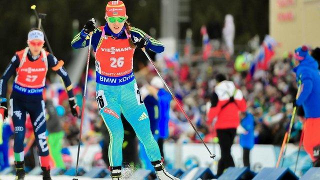 Збірна України з біатлону фінішувала десятою у стартовій гонці сезону
