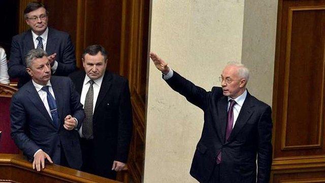 Азаров заявив про намір повернутися до України