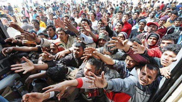 В уряді пропонують розселити в Україні мігрантів із Сирії заради безвізового режиму з ЄС