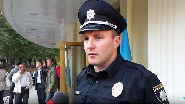 Один з керівників патрульної поліції Львова побив свого підлеглого
