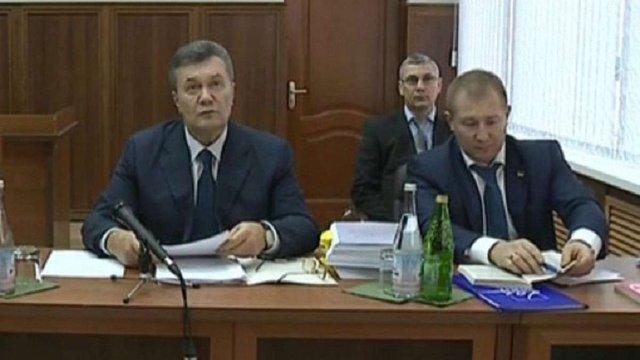 У ГПУ пояснили, чому допитували Януковича у справі проти «беркутівців» у якості свідка