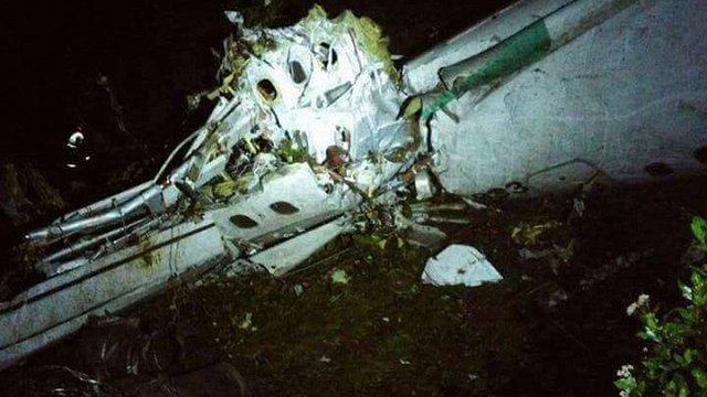 У Колумбії розбився літак з гравцями бразильської футбольної команди