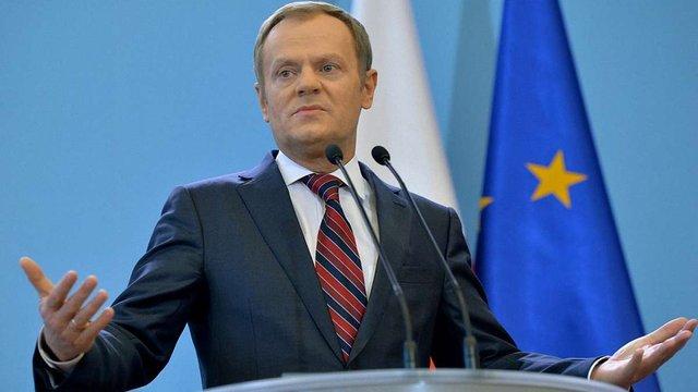 В уряді Польщі не підтримують переобрання Дональда Туска на посаду голови Європейської ради