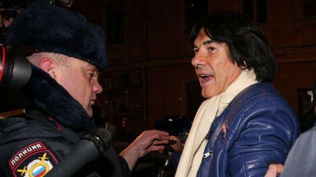 Московська поліція відпустила французького музиканта Маруані до вечора