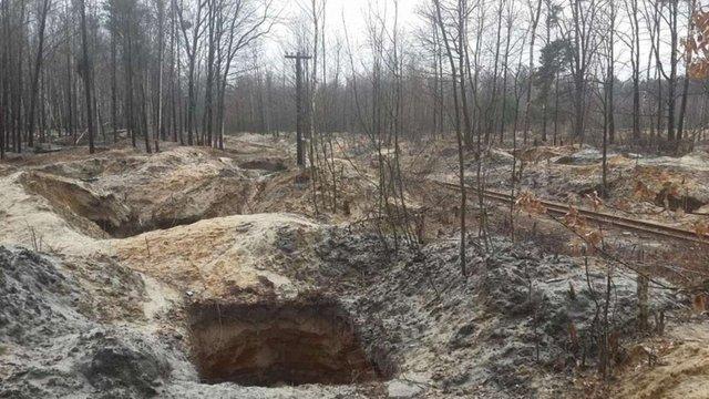 У трьох областях проведуть рекультивацію земель, пошкоджених незаконним видобутком бурштину