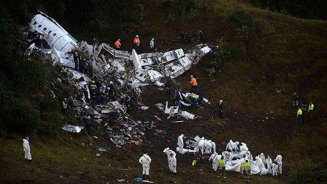 Літак із бразильською футбольною командою розбився через брак пального