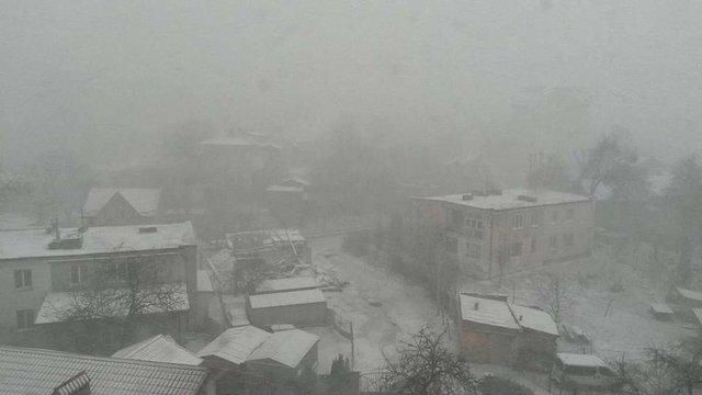 Мешканців Львівщини попереджають про значне погіршення погодних умов