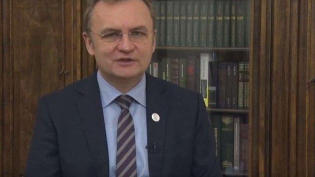 Садовий заявив, що Львів не піддасться на шантаж перевізників