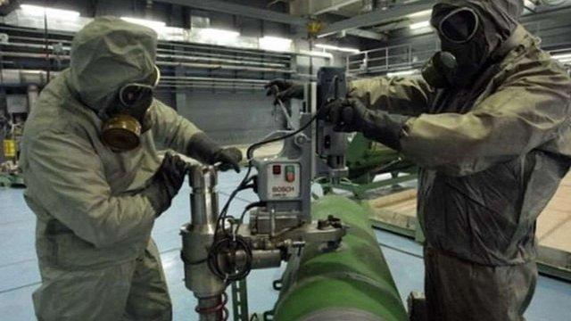 Україна передала НАТО дані про можливу доставку РФ хімічної зброї до Сирії через Крим