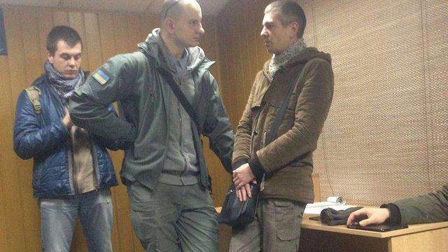 У Києві націоналісти затримали сепаратиста і передали його контррозвідці