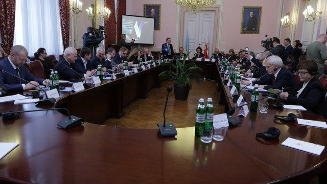 У Львові триває Парламентська асамблея України та Польщі