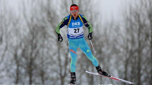 Український біатлоніст Підручний потрапив в десятку кращих в спринті на етапі Кубка світу