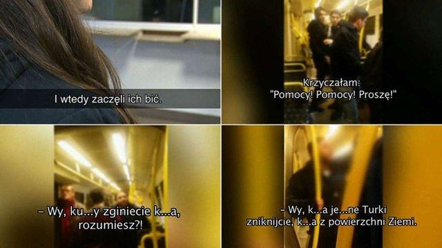 У Польщі п'яні радикали в трамваї побили групу іноземних студентів
