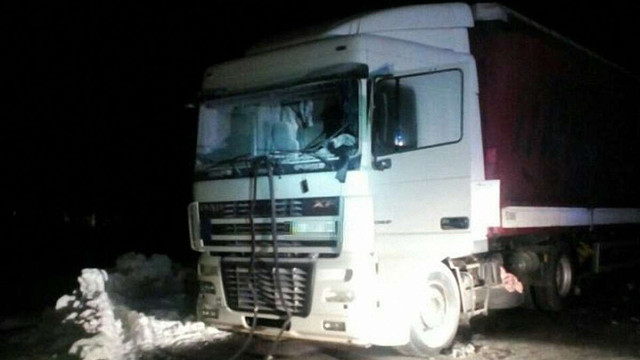 На АЗС під Львовом вибухнула вантажівка, водія госпіталізували у важкому стані