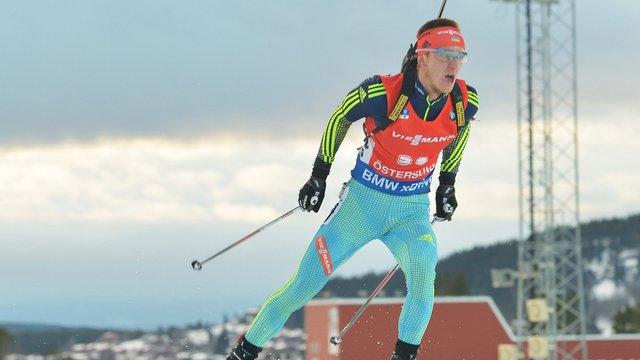 Біатлоністи збірної України опинились поза топ-10 гонки переслідування