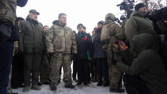 На Донеччині за участю Порошенка запустили телерадіовежу на горі Карачун