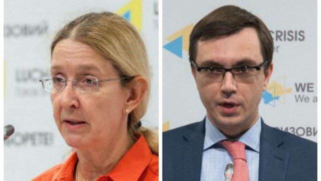 Міністри Омельян і Супрун висловилися проти запропонованих їм держсекретарів