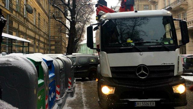Нові контейнери для сміття у Львові коштують €1,5 млн