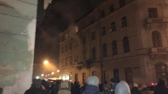 На проспекті Свободи у Львові горіла квартира