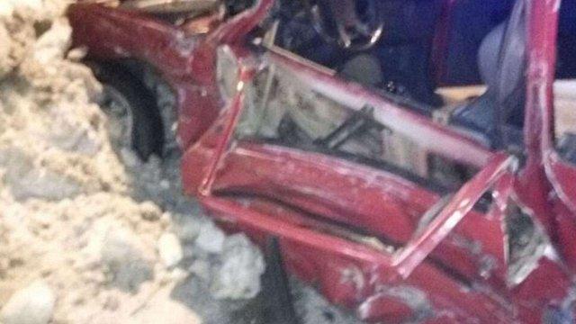 У Львові п'яний водій намагався втекти з місця аварії